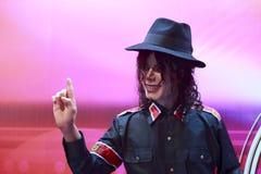 迈克尔・杰克逊的蜡象 免版税库存照片