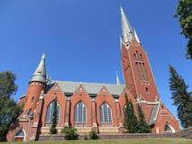 迈克尔` s教会在图尔库 库存图片