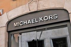 迈克尔kors商店 库存照片