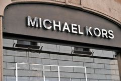 迈克尔kors商店 库存图片
