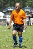 迈克尔Lai,教练RSC橄榄球俱乐部 免版税库存照片