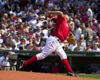 迈克・蒂姆林,波士顿红袜 库存照片