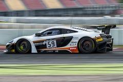 迈凯轮650个GT3 Blancpain GT系列冠军 免版税图库摄影