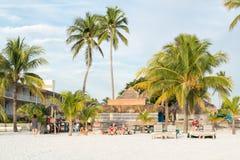 迈尔斯堡海滩在佛罗里达,美国 免版税库存照片