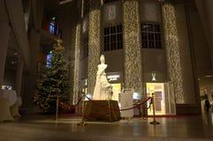 迈森瓷制造展示室入口 库存照片