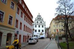 迈森街道德国 免版税图库摄影