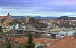 迈森风景视图德国 免版税库存照片
