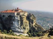 迈泰奥拉一个惊人的风景在中央希腊 库存图片