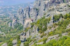 迈泰奥拉山,希腊 免版税图库摄影
