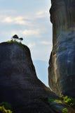迈泰奥拉风景,希腊 库存图片