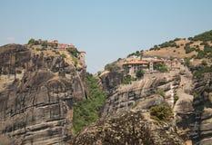 迈泰奥拉,希腊圣洁修道院  库存图片