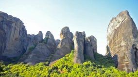 迈泰奥拉,希腊峭壁  影视素材