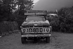 年迈的卡车 免版税库存照片