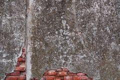 年迈的墙壁背景 免版税库存照片