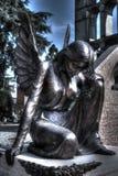 年迈的守护天使 免版税库存照片