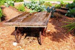 年迈的木无盖货车,南佛罗里达 免版税图库摄影