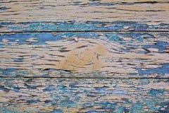 年迈的木头被绘的纹理 库存图片