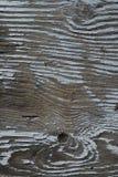 年迈的被绘的木头 免版税库存图片