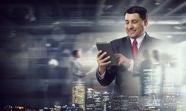 年迈的CEO画象  免版税库存图片