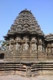 迈索尔somnathpur寺庙 免版税库存图片