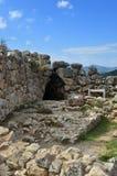 迈锡尼和梯林斯,希腊考古学站点  免版税库存图片