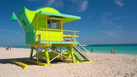 迈阿密南海滩,佛罗里达,美国 股票录像