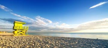 迈阿密南海滩 免版税库存图片