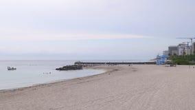 迈阿密夏天安静晚上海滩生活4k佛罗里达美国 影视素材