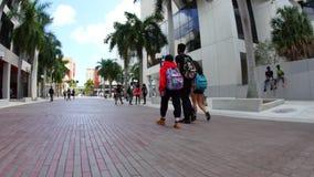 迈阿密大德社区学院4k录影 股票视频
