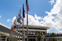 迈阿密机场 免版税图库摄影