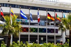 迈阿密机场 免版税库存照片