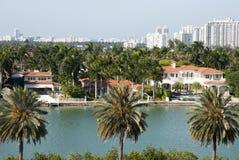 迈阿密棕榈岛 库存照片