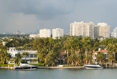 迈阿密棕榈岛 免版税库存照片