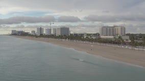 迈阿密海滩海岸线 影视素材
