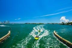 迈阿密海滩海景 免版税库存图片