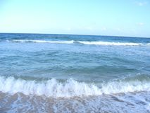 迈阿密海滩视图 免版税库存照片
