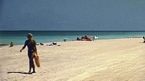 迈阿密海滩20世纪70年代 影视素材