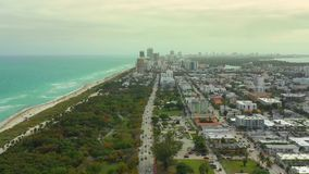 迈阿密海滩FL电影英尺长度  股票视频