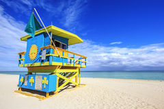 迈阿密海滩佛罗里达 库存照片