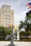 迈阿密海滩战争纪念建筑 库存图片