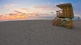迈阿密海滩日出timelapse 股票录像