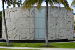 迈阿密海滩梅尔文圆形建筑的理查 图库摄影