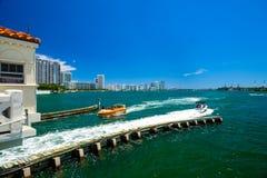迈阿密海滩海景 库存照片