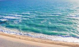 从迈阿密海滩的大西洋 图库摄影