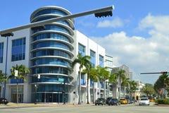 迈阿密海滩街道 免版税库存照片
