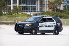 迈阿密海滩警察 免版税库存图片