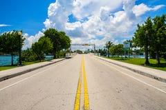 迈阿密海滩都市风景 库存图片