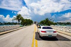 迈阿密海滩都市风景 免版税库存图片