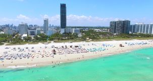 迈阿密海滩,南海滩 佛罗里达 美国 股票录像