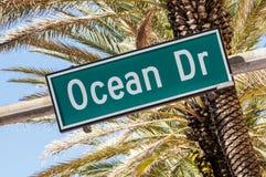 迈阿密海滩, Floride,美国 库存照片